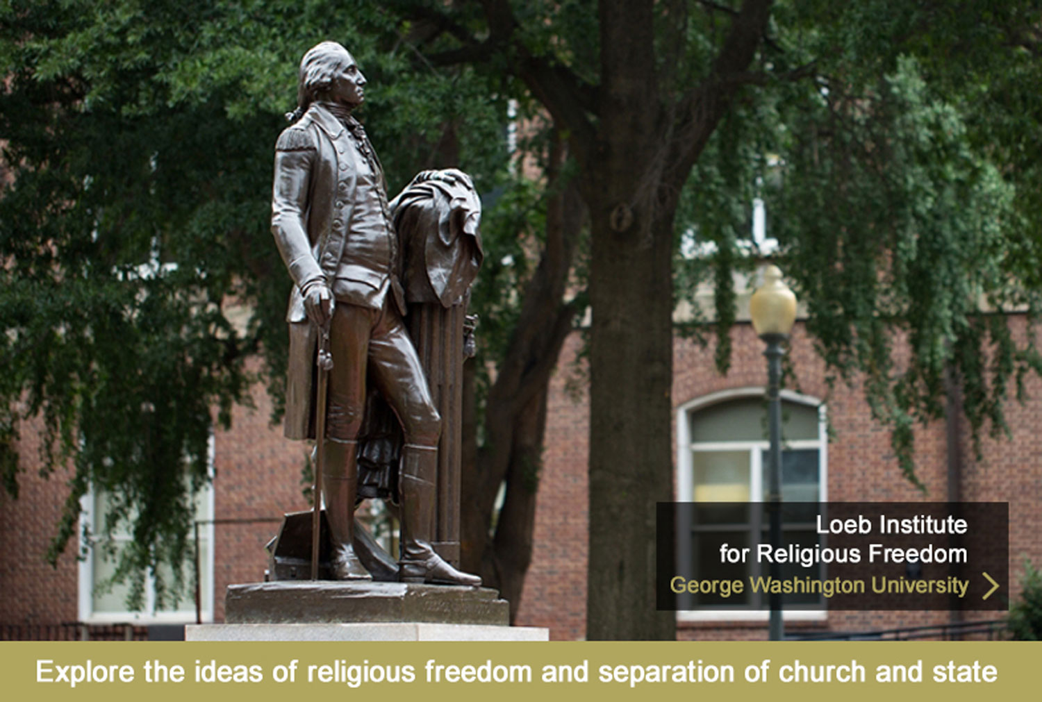 Loeb Institute for Religious Freedom at GWU (George Washington University)